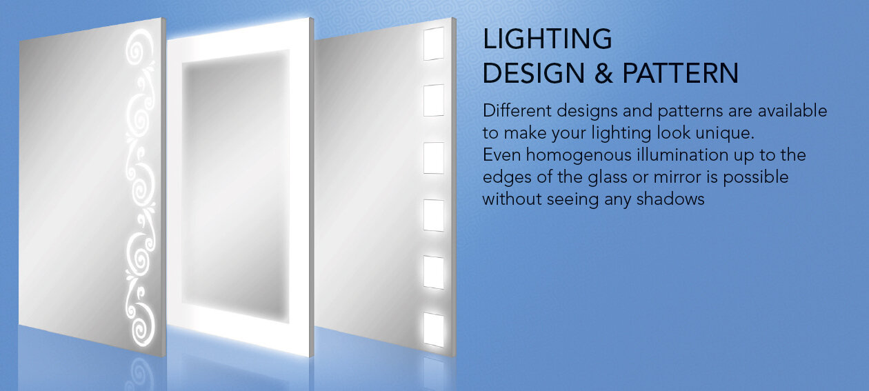 Lighting and Design Pattern. Different Lighting Designs available